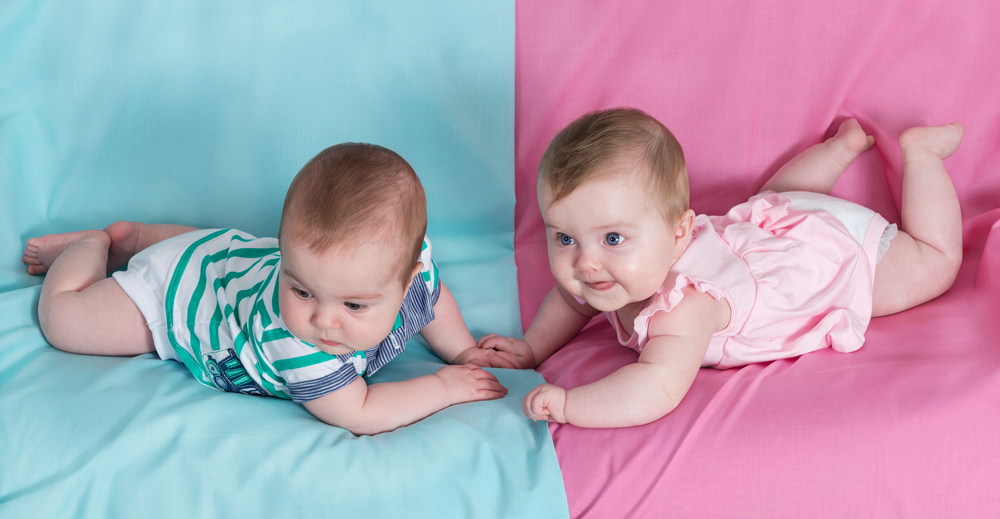 Blue for boys and pink for girls… or should it be the other way around?