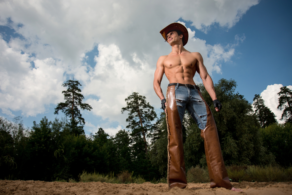 hunky cowboy