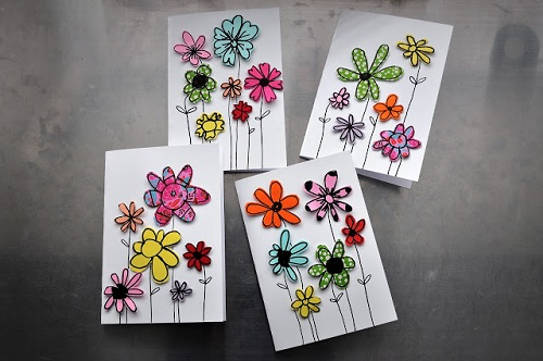 diy mother's day cards to make with the children  ace